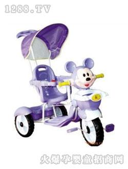 康龙 康虹/康龙紫色婴儿三轮车