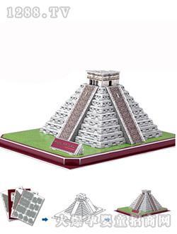 乐立方玛雅金字塔(墨西哥)