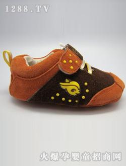 广州/恩里可黑色学步鞋