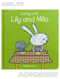 html lily和milo系列绘本描绘了一个可爱的小兔子lily和顽皮淘气的小