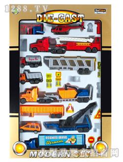 实丰儿童玩具大卡车