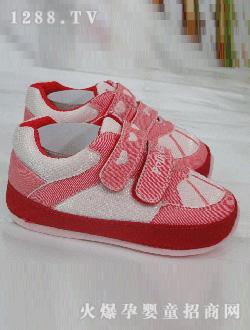 婴儿 比士尼/比士尼粉红学步鞋