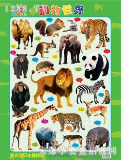 阳光宝贝动物世界挂图