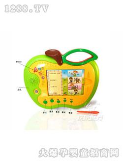 """html 可爱的青苹果造型,""""学习""""""""重复""""""""测试""""等不同的功能,帮助宝宝在"""