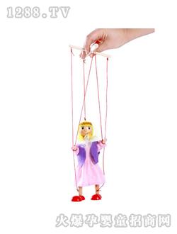 木马智慧玩具提线木偶-女孩