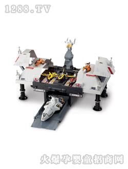 奥特曼玩具潜水飞机库