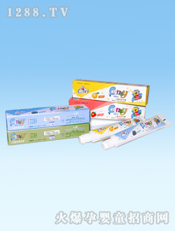 可爱多45g儿童水晶牙膏