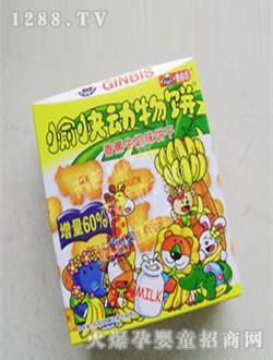 动物 济南/金必氏干香蕉味动物饼