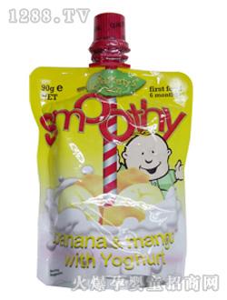 贝拉米/叶子婴儿香蕉芒果味优