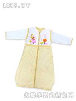 黄色 西贝/呼西贝黄色小兔子婴儿睡袋