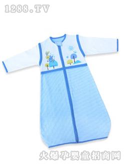 黄色 西贝/呼西贝蓝色小兔子婴儿睡袋