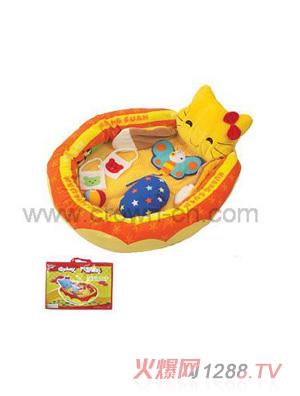 皇冠卡通动物婴儿垫