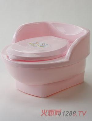 茶花儿童座式马桶盆