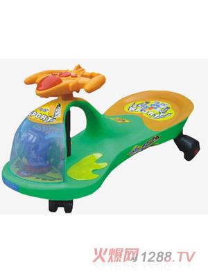 宝贝地带婴儿飞机音乐扭扭车