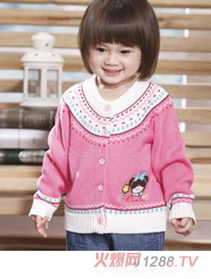 西瓜太郎时尚宝宝加厚外套