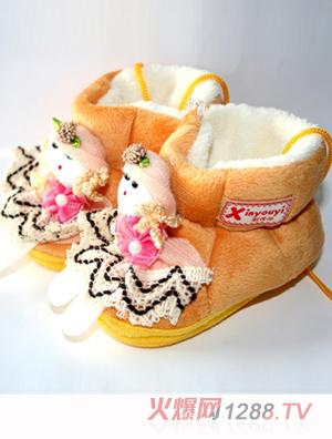 新优怡可爱小娃娃童鞋