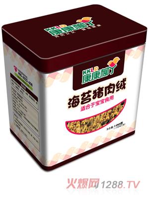 康康柳丁海苔猪肉绒