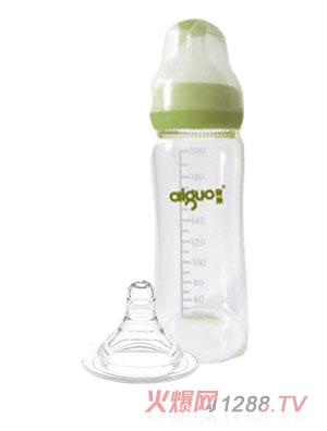 爱果婴儿无柄环保奶瓶200ml