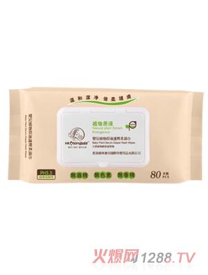 香港妈咪宝贝植物原液护臀柔湿巾