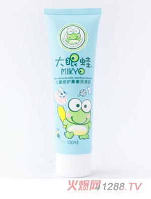 大眼蛙儿童水晶牙膏