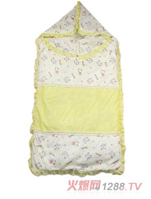 黄色 睡袋/牛霸王婴儿睡袋黄色