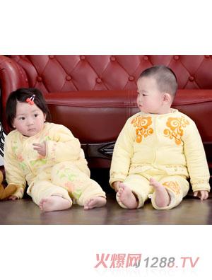 美好可爱宝宝春款套装-火爆孕婴童招商网