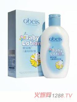 欧贝斯儿童保湿滋润露 广州欧贝斯化妆品有限公司 高清图片