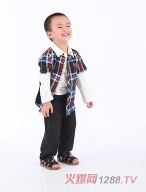 迪酷啦男童长袖衬衫
