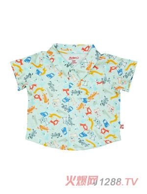 ZUTANO男童短袖衬衫