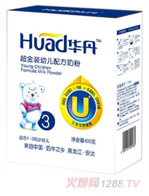华丹超金装幼儿配方奶粉3段