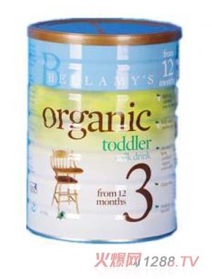 贝拉米婴儿奶粉3段