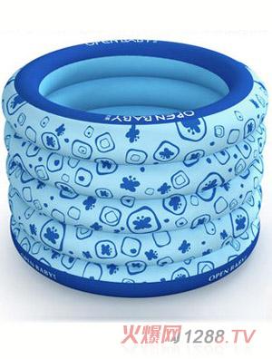 欧培充气圆形游泳池