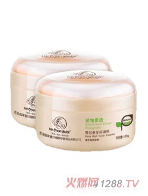 香港妈咪宝贝婴儿麦芽尿湿粉