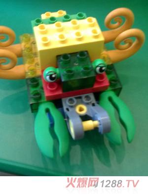 乐高螃蟹侏儒积木-a螃蟹孕婴童v螃蟹网巫师图纸古威3玩具图片