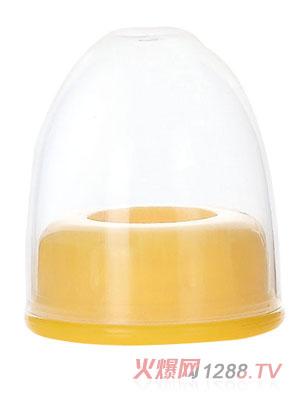 贝乐嘉黄色标口奶瓶盖