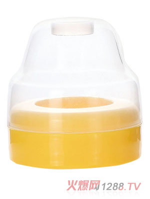 贝乐嘉黄色宽口奶瓶盖