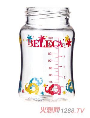 贝乐嘉时尚卡通奶瓶160ml