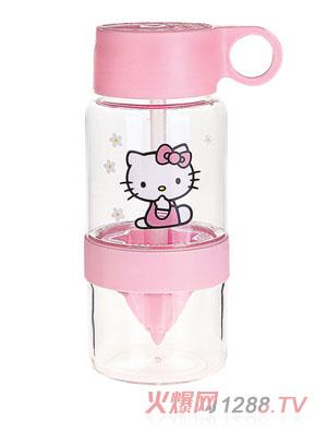 贝乐嘉hello kitty卡通环保水壶