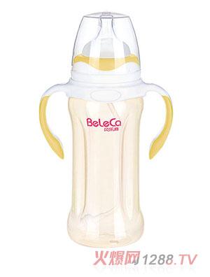 贝乐嘉黄白两色标口全自动婴儿奶瓶