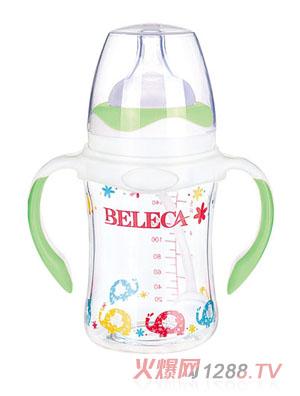 贝乐嘉双层防爆防摔婴儿奶瓶