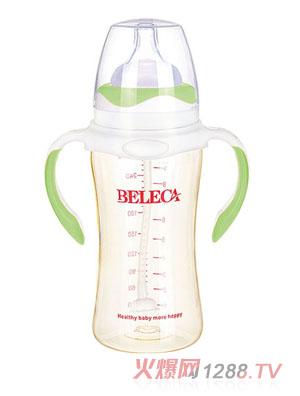 贝乐嘉双柄弧形奶瓶270ml