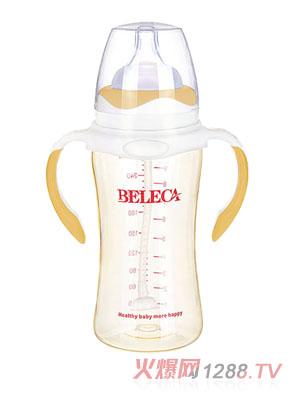 贝乐嘉黄色婴儿PP奶瓶270ml