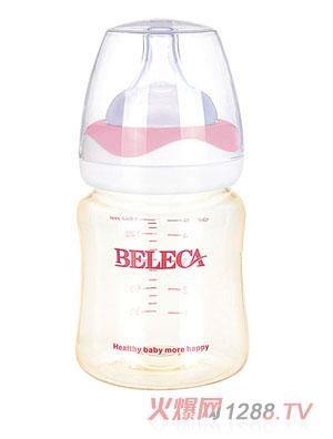 贝乐嘉无柄全自动硅胶奶瓶160ml