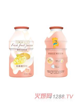 麦欧欧乳酸菌饮料芒果味