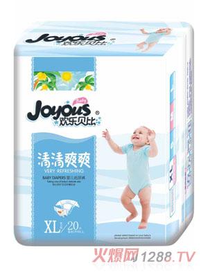 欢乐贝比清清爽爽纸尿裤XL20