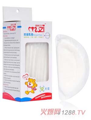 妈咪王子12片装防溢乳垫