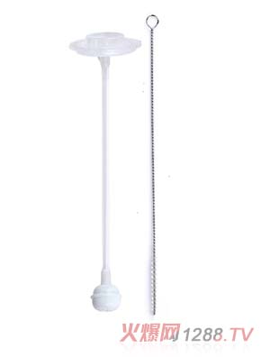 妈咪王子9安宽口自动吸管+吸管刷