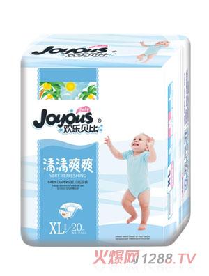 欢乐贝比清清爽爽婴儿纸尿裤XL20片