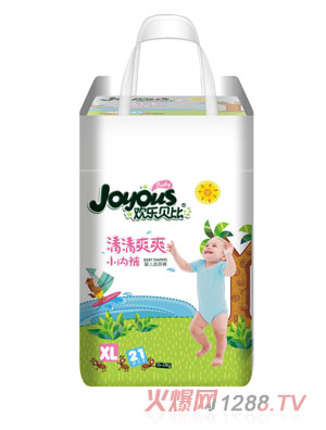 欢乐贝比清清爽爽小内裤婴儿纸尿裤XL