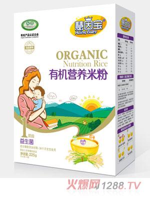 慧因宝益生菌1段盒装有机营养米粉